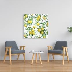 Canvas 36 x 36 - Lemon pattern