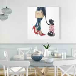 Canvas 36 x 36 - Best friends fashion