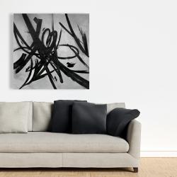 Canvas 36 x 36 - Circular strokes