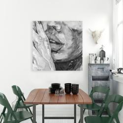 Canvas 36 x 36 - Luscious lips
