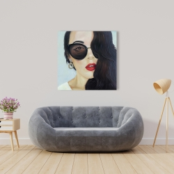 Canvas 36 x 36 - Fashionable sunglasses