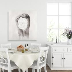 Canvas 36 x 36 - Feminine delicacy