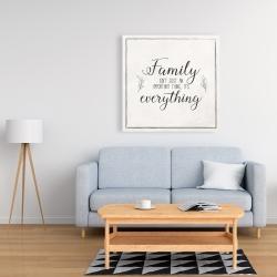 Canvas 36 x 36 - Family