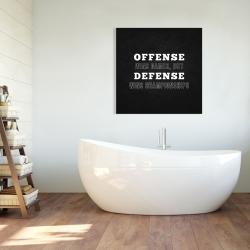 Canvas 36 x 36 - Offense wins games...