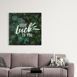 Canvas 36 x 36 - Good luck to you
