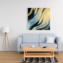 Canvas 36 x 36 - Wavy wave