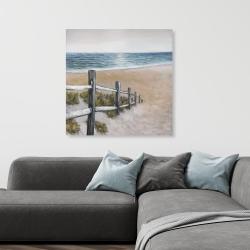 Canvas 36 x 36 - Soft seaside