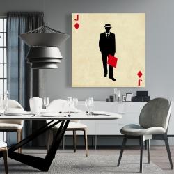 Canvas 36 x 36 - Jack of diamonds