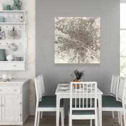 Canvas 36 x 36 - Paris