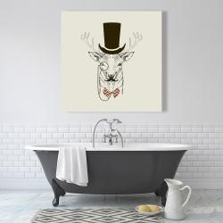 Canvas 36 x 36 - Aristocrat roe deer