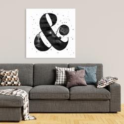 Canvas 36 x 36 - Ampersand