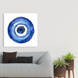 Canvas 36 x 36 - Erbulus blue evil eye