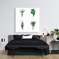 Canvas 36 x 36 - Fine herbs