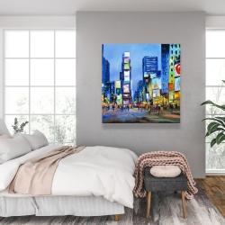 Canvas 36 x 36 - Cityscape in times square