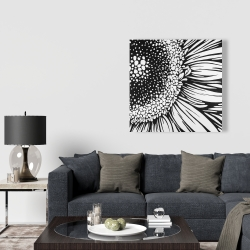 Canvas 36 x 36 - Gerbera flower
