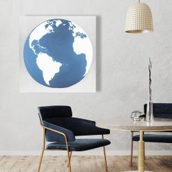 Canvas 36 x 36 - The earth