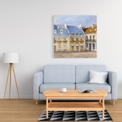 Canvas 36 x 36 - Old quebec city