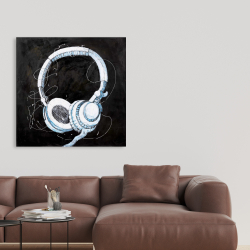 Toile 36 x 36 - écouteur