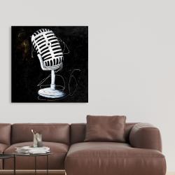 Canvas 36 x 36 - Microphone