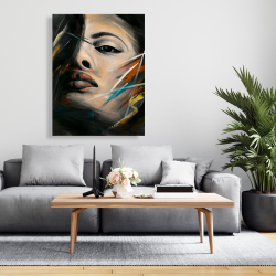 Canvas 36 x 48 - Abstract woman portrait
