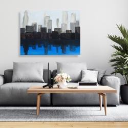 Canvas 36 x 48 - Blue city