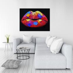 Toile 36 x 48 - Rouge à lèvre coloré