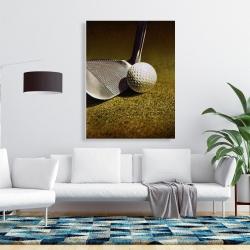 Canvas 36 x 48 - Golf closeup