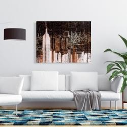 Canvas 36 x 48 - The empire city of newyork