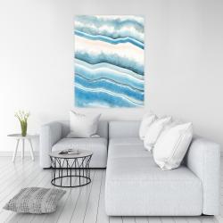 Canvas 36 x 48 - Textured geode