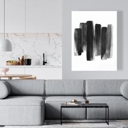 Canvas 36 x 48 - Black shapes