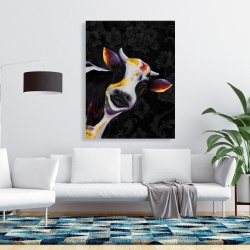 Canvas 36 x 48 - Funny cow