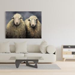 Canvas 36 x 48 - Wool sheeps