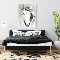 Canvas 36 x 48 - Beautiful abstract horse