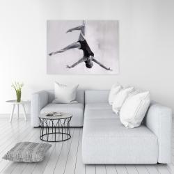 Canvas 36 x 48 - Dancer on aerial silks