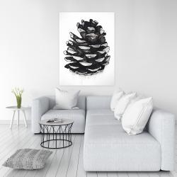 Canvas 36 x 48 - Pine cone