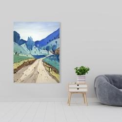 Canvas 36 x 48 - Tuscany trail