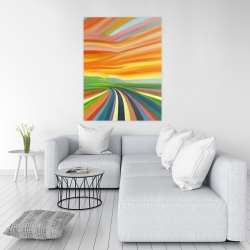 Canvas 36 x 48 - Colorful road