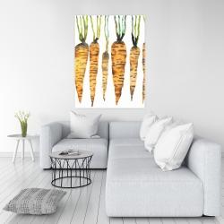 Canvas 36 x 48 - Watercolor carrots