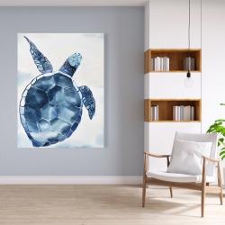 Canvas 36 x 48 - Blue turtle