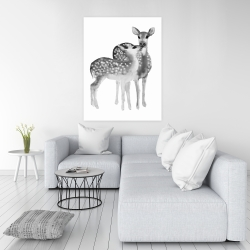 Canvas 36 x 48 - Fawns love
