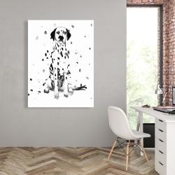 Canvas 36 x 48 - Dalmatian dog