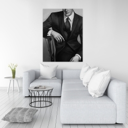 Canvas 36 x 48 - Businessman