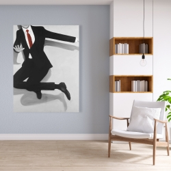 Canvas 36 x 48 - Classical jumping man