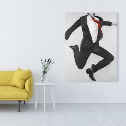 Canvas 36 x 48 - Happy classic man