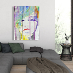 Canvas 36 x 48 - Abstract colorful portrait