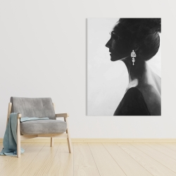Toile 36 x 48 - Femme chic