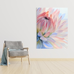 Canvas 36 x 48 - Lotus pastel flower