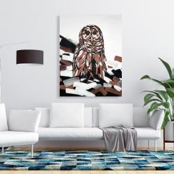 Canvas 36 x 48 - Tawny owl