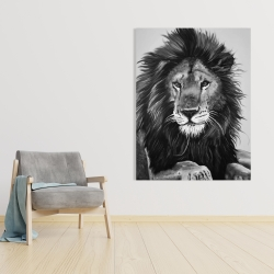 Canvas 36 x 48 - The lion king