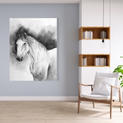 Canvas 36 x 48 - Domino horse